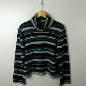 Genuine Sonoma, Black & Gray Sweater